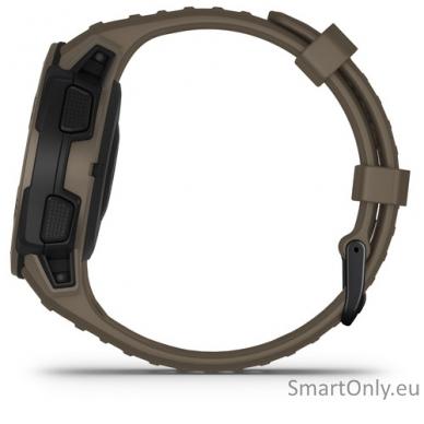 Išmanusis laikrodis Garmin Instinct Tactical Coyote Tan 5
