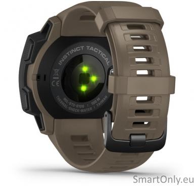 Išmanusis laikrodis Garmin Instinct Tactical Coyote Tan 6