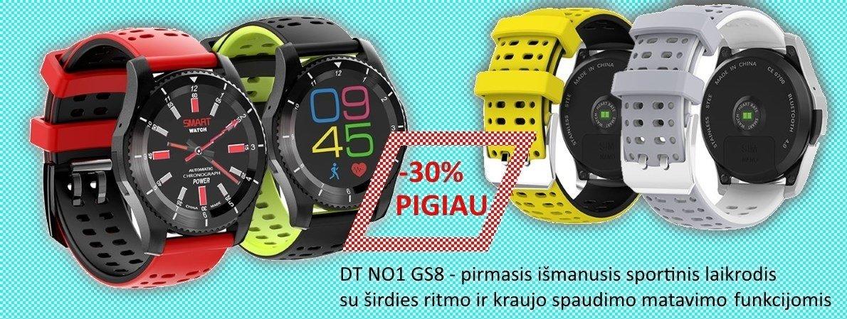 Išmanusis sportinis laikrodis DT NO.1 GS8