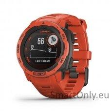 Instinct Solar, GPS Watch, Flame Red, WW