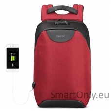 Smart Backpack TGN B3611 Burgundy