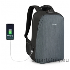 Smart Backpack TGN B3669 Grey