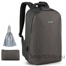 Smart Backpack TGN B3669 Coffee