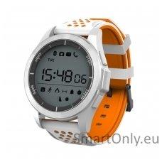 Išmanus laikrodis DT NO.1 F3 (Oranžinė/balta)