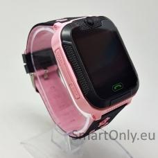 Išmanusis GPS laikrodis-telefonas vaikams TD07-S (rožinė)