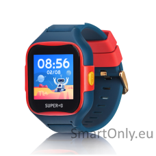GPS Smartwatch for kids Super-G Blast Hero Blue