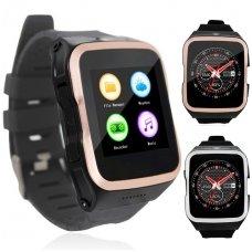 Išmanusis laikrodis-telefonas ZGPAX S83 (Juoda/auksinė)
