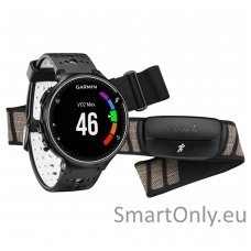Išmanusis laikrodis sportui Garmin Forerunner 230 HRM (Juoda/balta)