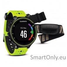 Išmanusis laikrodis sportui Garmin Forerunner 230 HRM (Juoda/geltona)