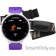 Išmanusis laikrodis sportui Garmin Forerunner 230 HRM (Violetinė/balta)