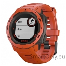 Išmanusis laikrodis Garmin Instinct Flame Red