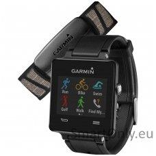 Išmanusis laikrodis Garmin vivoactive HRM Bundle (Juoda)