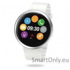 Išmanusis laikrodis MyKronoz Smartwatch ZeRound 2 (Balta/sidabrinė)