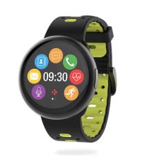 Išmanusis laikrodis MyKronoz Smartwatch ZeRound 2 HR Premium (juoda/geltona)