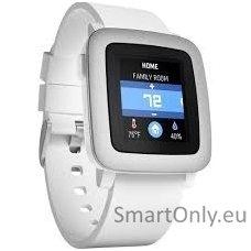 Išmanusis laikrodis Pebble Time Smartwatch (Baltas)