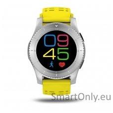 Išmanusis laikrodis - telefonas DT NO.1 GS8 (Geltona)