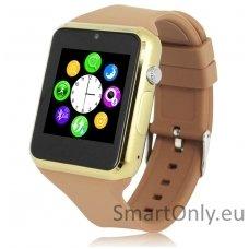Išmanusis laikrodis-telefonas ZGPAX S79 (Ruda/auksinė)