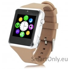 Išmanusis laikrodis-telefonas ZGPAX S79 (Ruda/sidabrinė)