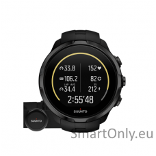 Išmanusis sportinis laikrodis SUUNTO SPARTAN SPORT WRIST HR ALL BLACK + smart sensor diržas