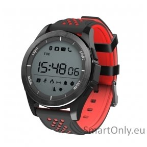 Smartwatch DT NO.1 F3 black red