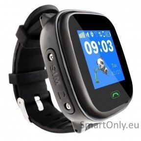 Išmanusis GPS laikrodis-telefonas vaikams Sponge See 2 (juoda)