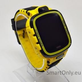 Išmanusis GPS laikrodis-telefonas vaikams TD-26 (geltona)