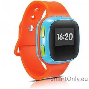 Išmanusis laikrodis Alcatel Move Time Kids Watch SW10 (Oranžinė)