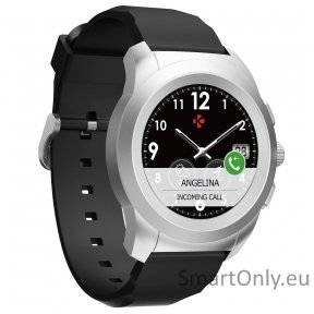 MyKronoz Smartwatch ZeTime Original Regular Brushed Silver/Black