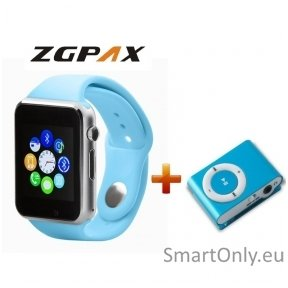 Išmanusis laikrodis - telefonas ZGPAX S799 + Muzikos grotuvas Setty MP3 GSM024738