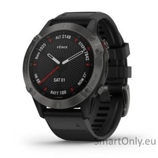 Išmanusis laikrodis Garmin Fenix 6 Saphire Black