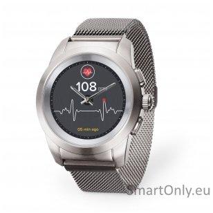 Išmanusis laikrodis MyKronoz Smartwatch ZeTime Elite (Sidabrinė)
