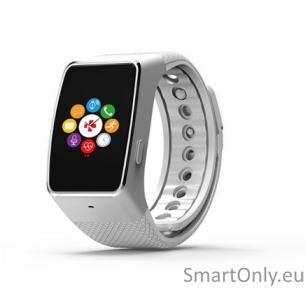 Išmanusis laikrodis MyKronoz Smartwatch ZeWatch 4 HR (Balta, sidabrinė)