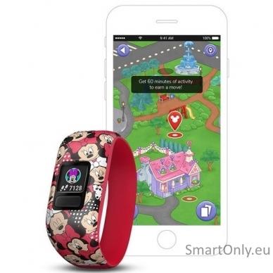 Activity Tracker For Kids Garmin Vivofit Jr 2 Minnie Mouse 4
