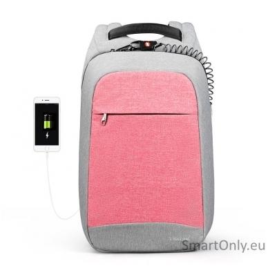 Išmanioji kuprinė TGN B3335 Light Pink