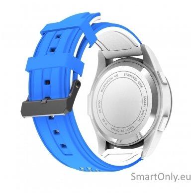Išmanus laikrodis DT NO.1 F3 (Balta/mėlyna) 4