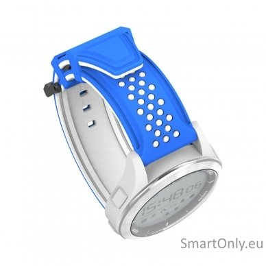 Išmanus laikrodis DT NO.1 F3 (Balta/mėlyna) 5