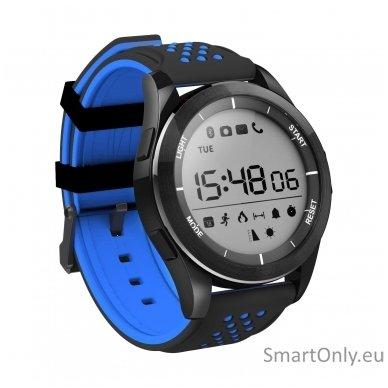 Išmanus laikrodis DT NO.1 F3 (Melyna/juoda) 2