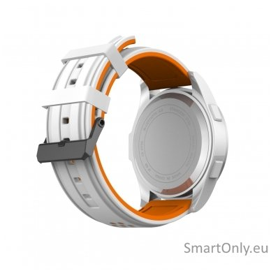 Išmanus laikrodis DT NO.1 F3 (Oranžinė/balta) 4