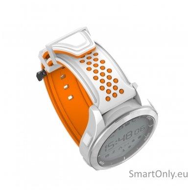 Išmanus laikrodis DT NO.1 F3 (Oranžinė/balta) 5