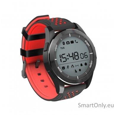 Išmanus laikrodis DT NO.1 F3 (Raudona/juoda) 2