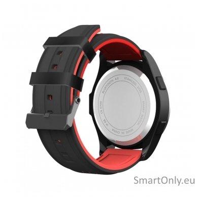 Išmanus laikrodis DT NO.1 F3 (Raudona/juoda) 3