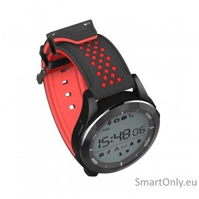 Išmanus laikrodis DT NO.1 F3 (Raudona/juoda) 4
