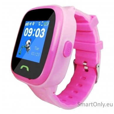 Išmanusis GPS laikrodis-telefonas vaikams Sponge See 2 (rožinė) 4