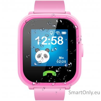 Išmanusis GPS laikrodis-telefonas vaikams Sponge See 2 (rožinė) 5