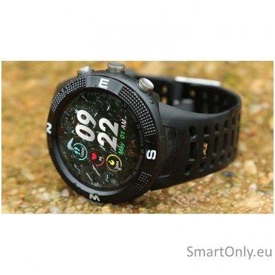 Išmanusis GPS laikrodis DT NO.1 F18 (Juoda) 9