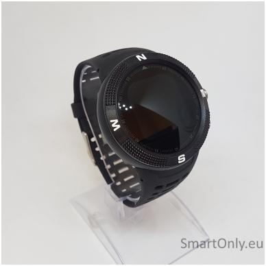Išmanusis GPS laikrodis DT NO.1 F18 (Juoda) 2