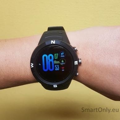 Išmanusis GPS laikrodis DT NO.1 F18 (Juoda) 8