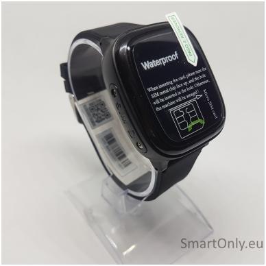 Išmanusis GPS laikrodis-telefonas vaikams Sponge See 2 (juoda) 2