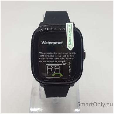 Išmanusis GPS laikrodis-telefonas vaikams Sponge See 2 (juoda) 3