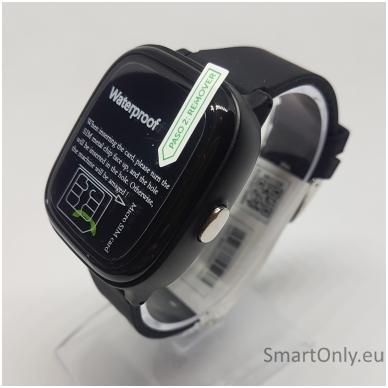 Išmanusis GPS laikrodis-telefonas vaikams Sponge See 2 (juoda) 4